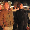 "Brian Dieke, left, looks at the lighting display with owner Kim Weibert who's holiday lighting display is at 1188 Clubhouse Drive.<br /> More photos please see  <a href=""http://www.broomfieldenterprise.com"">http://www.broomfieldenterprise.com</a><br /> December 9, 2011<br /> Staff photo/ David R. Jennings"