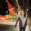 "Jostyn Hillesheim, 6, looks at Kim Weibert's holiday lighting display at 1188 Clubhouse Drive.<br /> More photos please see  <a href=""http://www.broomfieldenterprise.com"">http://www.broomfieldenterprise.com</a><br /> December 9, 2011<br /> Staff photo/ David R. Jennings"
