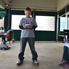 """Kohl Elementary fourth grader Jackson Stone reads his poem, """"Nature Poem"""" during Mrs. Fields' Poetry Cafe class at the 287 and Miramonte Starbucks on Friday.<br /> <br /> December 14, 2012<br /> staff photo/ David R. Jennings"""
