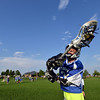 "Jake Borelli, 11, catches the ball  during Monarch High School's David Auday lacrosse camp at the Broomfield County CommonsPark on Thursday.<br /> <br /> <br /> July 12, 2012<br /> staff photo/ David R. Jennings<br /> <br /> More photos and video please go to <br />  <a href=""http://www.broomfieldenterprise.com"">http://www.broomfieldenterprise.com</a>"