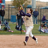 Legacy's Jessica Ball catches a fly ball during the state 5A championship softball game against Ralston Valley on Saturday at the Aurora Sports Park. <br /> October 24, 2009<br /> Staff photo/David R. Jennings