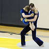Jeffrey Hargis carries Weston Schutt during Legacy's Color Guard performance at the Rocky Mountain Color Guard Association state competition at Legacy  on Saturday.<br /> <br /> March 27, 2010<br /> Staff photo/David R. Jennings