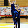 Jeff Martin lifts Beverly Houston during Legacy's Color Guard performance at the Rocky Mountain Color Guard Association state competition at Legacy  on Saturday.<br /> <br /> March 27, 2010<br /> Staff photo/David R. Jennings
