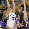 Legacy's Courtney Smith shoots the ball against Boulder during Friday's game at Legacy.<br /> January 6, 2012<br /> staff photo/ David R. Jennings