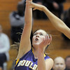 Boulder's Sarah Burns shoots the ball against Legacy during Friday's game at Legacy.<br /> January 6, 2012<br /> staff photo/ David R. Jennings