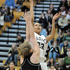 Legacy's xx goes to the basket against Prarie View's xxx during Saturday's state 5A playoff game at Legacy.<br /> February 24, 2012 <br /> staff photo/ David R. Jennings