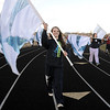 Legacy High Marching Band flag team member Tori McLeod marches around the school's track during practice on Thursday.<br /> <br /> November 10, 2011<br /> staff photo/ David R. Jennings