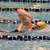 Legacy's Lyndsey Fremling swims in the 500 yard freestyle during the dual meet between Monarch and Legacy at the Veterans Memorial Aquatic Center in Thornton on Thursday.<br /> December 20, 2012<br /> staff photo/ David R. Jennings