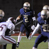Legacy's Cameron McWee runs the ball downfield against Pomona during Thursday's game at North Stadium.<br /> October 27, 2011<br /> staff photo/ David R. Jennings