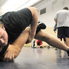 Legacy's Austin Yurko, right, works on wrestling techniques with assistant coach Mike Funk during practice at the school on Friday.<br /> For more photos see broomfieldenterprise.com<br /> November 25, 2011<br /> staff photo/ David R. Jennings