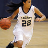 Legacy's Kailey Edwards drives the ball to the basket during the game on Tuesday at Legacy.<br /> December 8, 2009<br /> Staff photo/David R. Jennings