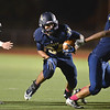 Legacy's Phydell Paris runs the ball downfield against Boulder during Thursday's game at Five Star Stadium in Thornton.<br /> October 18, 2012<br /> staff photo/ David R. Jennings