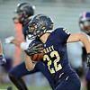Legacy's Drew Hebel runs the ball downfield against Boulder during Thursday's game at Five Star Stadium in Thornton.<br /> October 18, 2012<br /> staff photo/ David R. Jennings