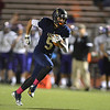 Legacy's Mikey Straface runs the ball downfield against Boulder during Thursday's game at Five Star Stadium in Thornton.<br /> October 18, 2012<br /> staff photo/ David R. Jennings
