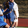Legacy's Mady Huber advances the ball against Broomfield during Thursday's game at North Stadium.<br /> <br /> March 15,  2012 <br /> staff photo/ David R. Jennings