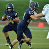 Legacy's Phydell Paris runs the ball downfield against Chaparral during Friday's game at North Stadium.<br /> September 14, 2012<br /> staff photo/ David R. Jennings