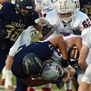 Legacy's Jake Chiddix tackles Chaparral's Zac Guy during Friday's game at North Stadium.<br /> September 14, 2012<br /> staff photo/ David R. Jennings