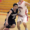 Legacy's Mitchell McCall dribbles the ball past Fairview's Holden Killeen during Thursday's game at Fairview.<br /> February 2, 2012<br /> staff photo/ David R. Jennings
