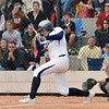 Legacy's Kylie Barnard  hits the ball against Loveland during Saturday's state semi final softball championship game at Aurora Sports Park.<br /> <br /> October 20, 2012<br /> staff photo/ David R. Jennings
