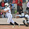 Loveland's Bradey King hit the ball against Legacy during Saturday's state semi final 5A softball championship game at Aurora Sports Park.<br /> <br /> October 20, 2012<br /> staff photo/ David R. Jennings