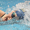 Legacy's Fiona Dretska swims in the 500 yard freestyle during the swim meet against Mountain Range at the Veteran's Memorial Aquatic Center on Thursday.<br /> For more photos please see the broomfieldenterprise.com<br /> December 1, 2011<br /> staff photo/ David R. Jennings