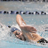 Legacy's Mary Lombardi swims in the 500 yard freestyle during the swim meet against Mountain Range at the Veteran's Memorial Aquatic Center on Thursday.<br /> For more photos please see the broomfieldenterprise.com<br /> December 1, 2011<br /> staff photo/ David R. Jennings