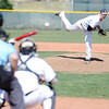 Legacy's pitcher Jacob Long throws against Pomona during Saturday's game at Legacy.<br /> April 7, 2012 <br /> staff photo/ David R. Jennings