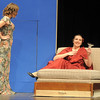"Haley DiVirgilio as Janet Van De Graaff seeks the advise of Susie Matthews as the Drowsy Chaperone during Friday's rehearsal of Legacy High's production of ""The Drowsy Chaperone"".<br /> February 4, 2011<br /> staff photo/David R. Jennings"