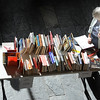 Bev Sharp looks at history books at the Broomfield Library Friends book sale at the Mame Doud Eisenhower Public Library on Saturday.  <br /> March 31, 2012 <br /> staff photo/ David R. Jennings