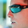 Lifeguard Grayson Malcom, 18, keeps his eyes on swimmers in the big pool at The Bay Aquatic Center on Friday.<br /> <br /> July 13, 2012<br /> staff photo/ David R. Jennings