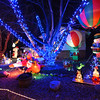 Balloons and inflatables adorn the holiday lighting display at 1201 Dexter St. in Broomfield.<br /> December 6, 2012<br /> staff photo/ David R. Jennings