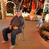 John Weibert rests while helping his daughter Kim Weibert with setting up her holiday lighting display at 1188 Clubhouse Drive in Broomfield.<br /> December 6, 2012<br /> staff photo/ David R. Jennings