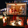 Santa's house with helpers are a part of the holiday lighting display at 155 Hemlock St. in Broomfield.<br /> December 6, 2012<br /> staff photo/ David R. Jennings