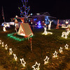 The holiday lighting display at 155 Hemlock St. in Broomfield.<br /> December 6, 2012<br /> staff photo/ David R. Jennings