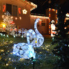 A pair of swans are a high light in the holiday lighting display at 3038 134th Pl. in Broomfield.<br /> December 6, 2012<br /> staff photo/ David R. Jennings