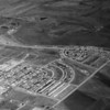 An aerial veiw of Broomfield Heights looking northwest on August 12, 1955 by O. Roach Scenic Photography. <br /> <br /> courtesy of the Depot Hill Museum