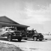 Broomfield's first fire station in the mid 1950's. The fire station is now North Metro Fire Rescue Station 61.<br /> courtesy of Depot Hill Museum