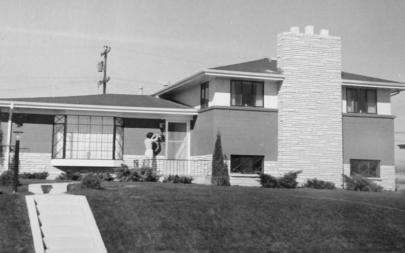 A Broomfield Heights second filing home 1959.<br /> <br /> <br /> courtesy of Depot Hill Museum