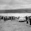 People gather to look at the Great Western Reservoir in the mid to late 1950's.<br /> <br /> <br /> photo courtesy of Depot Hill Museum