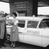 Broomfield Heights Hospital Foundation ambulance 1958<br /> <br /> courtesy of Depot Hill Museum