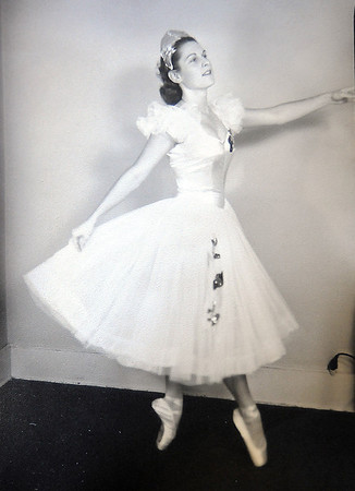 Jane Spain in the late 1950's  near the time she started the Jane Marrow Studio in Broomfield.<br /> <br /> courtesy of Jane Spain