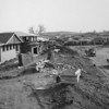 Broomfield houses under construction in the late 1950's early 1960's.<br /> <br /> courtesy of the Depot Hill Museum
