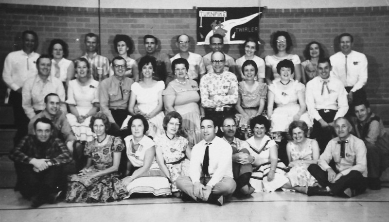 Turnpike Twirlers square dance club 1960's.<br />  <br /> courtesy of Depot Hill Museum
