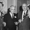 Jack Tehar, left, standing next to his father in-law Hugo Sill pose with two other gentlemen in 1963. <br /> <br /> courtesy of the Depot Hill Museum.