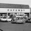 Safeway store in late 1960's which was located at the site of the current Target store.<br /> courtesy of Depot Hill Museum