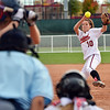 Loveland's pitcher Cassidy Smith throws against Dakota Ridge during Saturday's state 5A softball championship game at Aurora Sports Park.<br /> <br /> October 20, 2012<br /> staff photo/ David R. Jennings