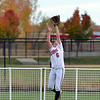 Loveland's Colissa Bakovich catches a fly ball to the outfield hit by Dakota Ridge during Saturday's state 5A softball championship game at Aurora Sports Park.<br /> <br /> October 20, 2012<br /> staff photo/ David R. Jennings