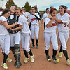 The Loveland team celebrates after winning  the state 5A softball championship at Aurora Sports Park on Saturday.<br /> The Indians defeated Dakota Ridge 3-1.<br /> <br /> October 20, 2012<br /> staff photo/ David R. Jennings