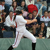 Cassidy Smith, Loveland hits her home run against Dakota Ridge during Saturday's state 5A softball championship game at Aurora Sports Park.<br /> <br /> October 20, 2012<br /> staff photo/ David R. Jennings