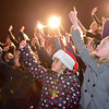 The Mountain View Elementary  Sign Language Choir performs at the Mayor's Tree Lighting Ceremony at the George Di Ciero City and County Building on Friday.<br /> <br /> December 7, 2012<br /> staff photo/ David R. Jennings